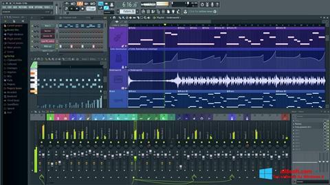Képernyőkép FL Studio Windows 8