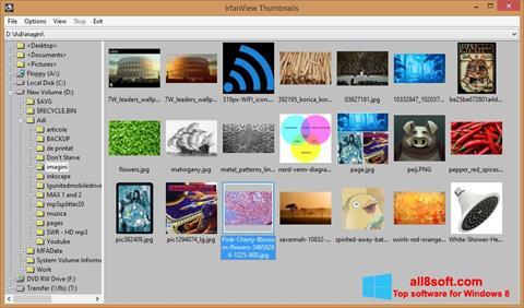 Képernyőkép IrfanView Windows 8