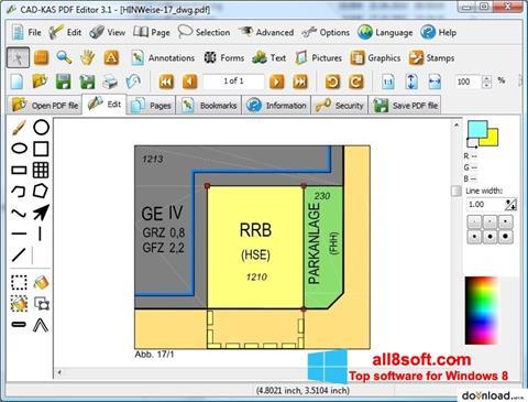 Képernyőkép PDF Reader Windows 8