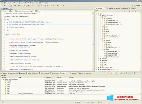 Képernyőkép Eclipse Windows 8