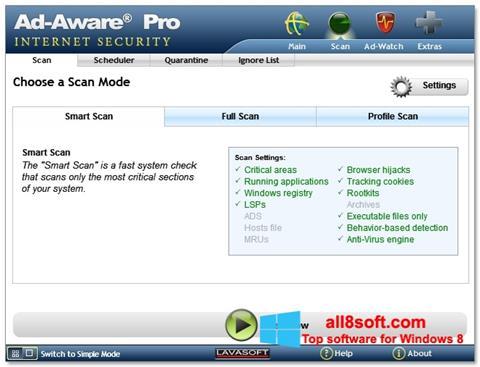 Képernyőkép Ad-Aware Windows 8
