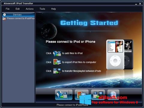 Képernyőkép iPhone PC Suite Windows 8
