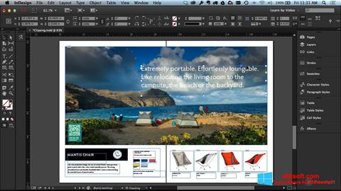 Képernyőkép Adobe InDesign Windows 8