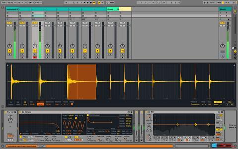 Képernyőkép Ableton Live Windows 8